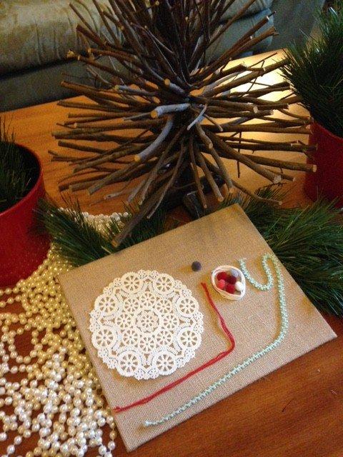christmas crafternoon ladner