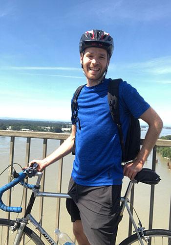 john bablitz on bike